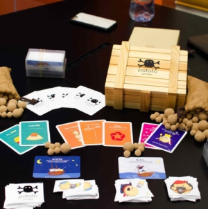 Potato Pirates Coding Card Game – Fun Coding For All Ages!