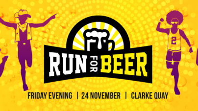 Run for Beer 2017 – Be A Part Of Singapore's Hoppiest Run