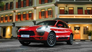 Porsche Macans Embellishes The Urban Streets Of Singapore