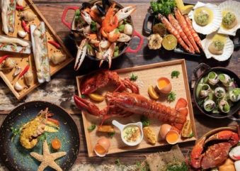 Lime Restaurant Seafood Buffet Extravaganza – What the Shell!
