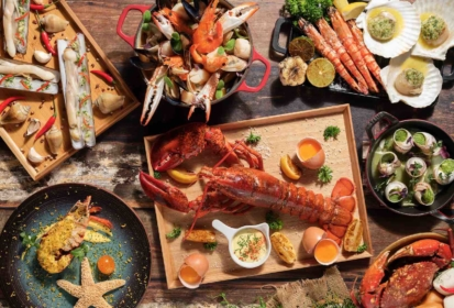 Lime RestaurantSeafood Buffet Extravaganza – What the Shell!