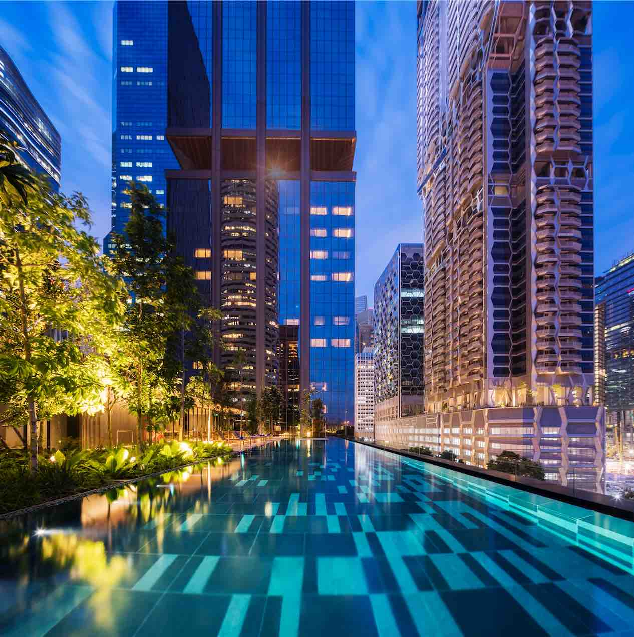 Apartments In Singapore: Oakwood Premier OUE Singapore: Downtown Luxury Serviced
