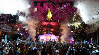 Usher In The New Year At Clarke Quay New Year's Eve Countdown 2018