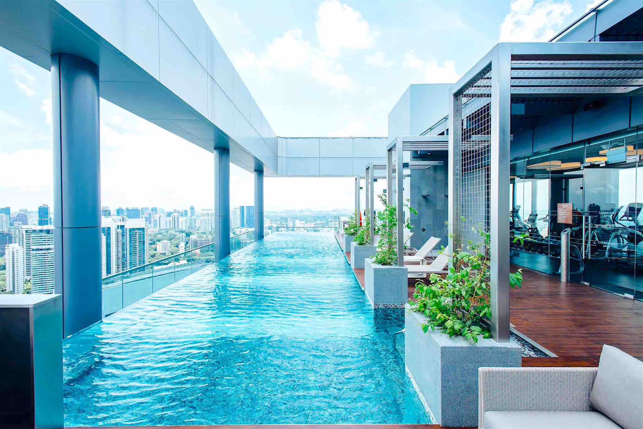 Courtyard By Marriott Singapore Novena Luxury In The Heart Of The City Aspirantsg Food