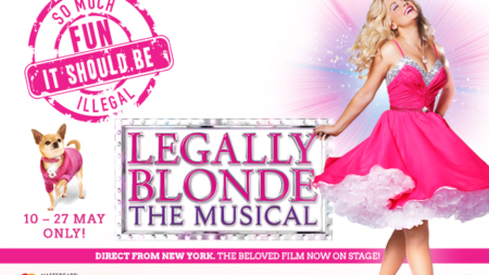 Omigod! Legally Blonde Musical In Singapore For The Very First Time!