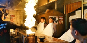 Menbakaichidai Fire Ramen Kyoto – Flaming Ramen In Japan's Old Capital