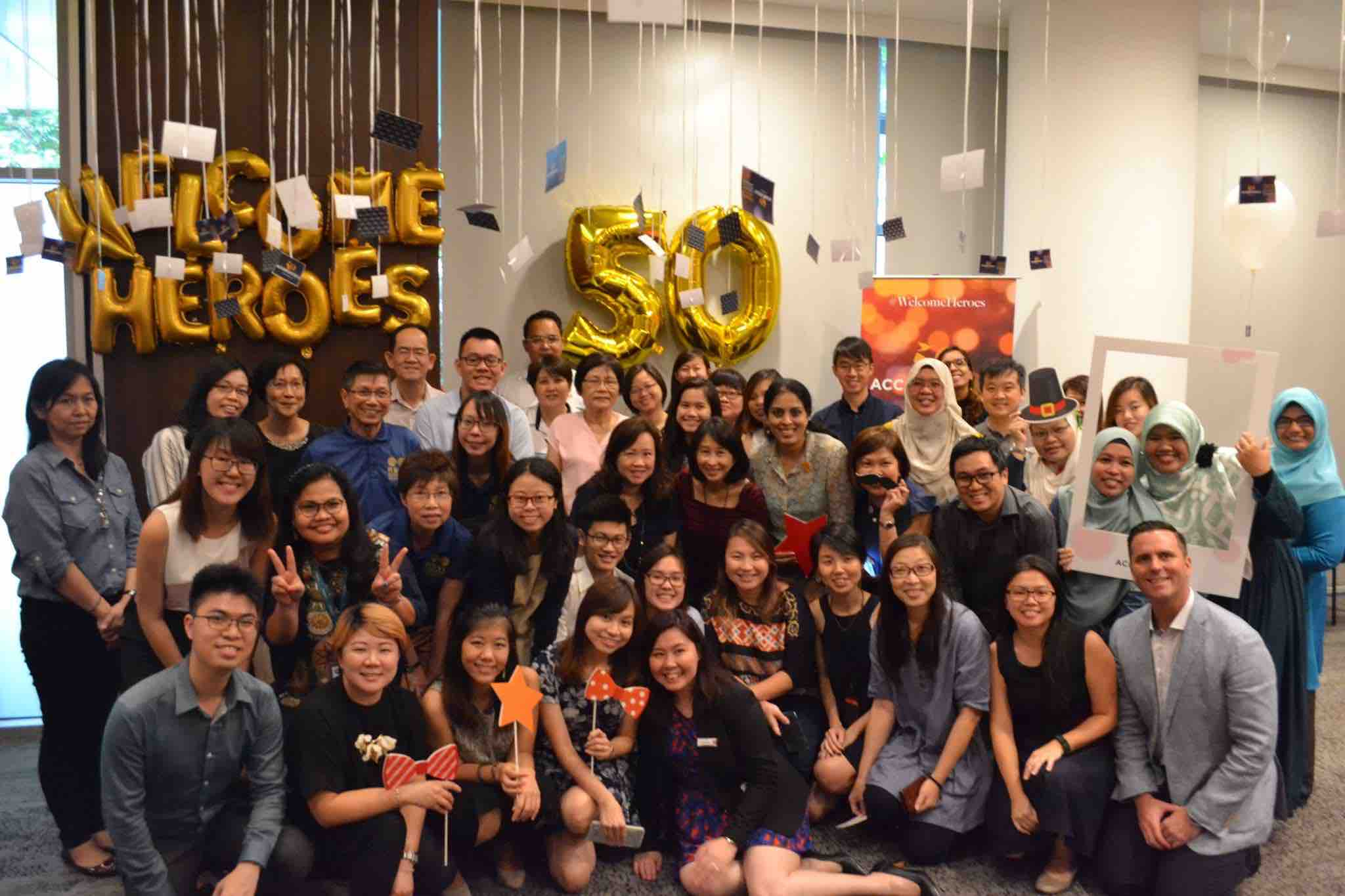 Accorhotels Singapore 50th Anniversary Celebrates Everyday