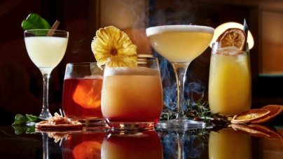 Orchard Hotel Bar Intermezzo Introduces 12 New Signature Craft Cocktails