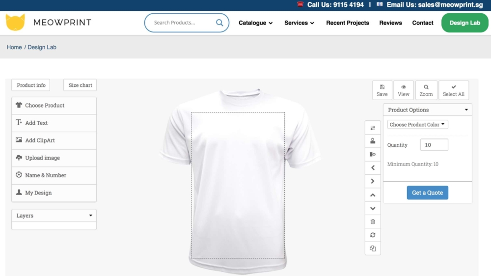 acf084f4 ... comes with a price, but if you are being economical, then we highly  recommend giving yourself at least 10 working days to get your T-Shirts  customized!