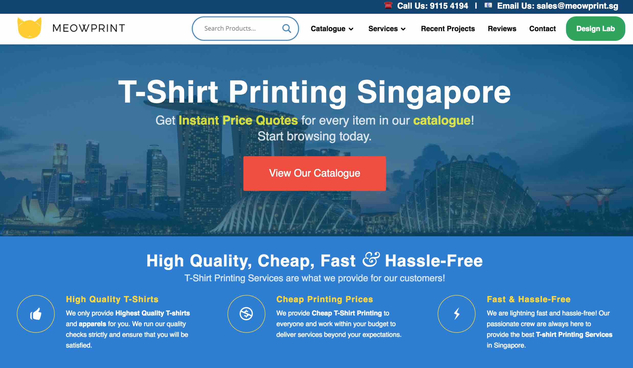 08d8751a If you need T-Shirt printing services, you can approach the leading T-Shirt  Printer, MEOWPRINT, at their website here: meowprint.sg