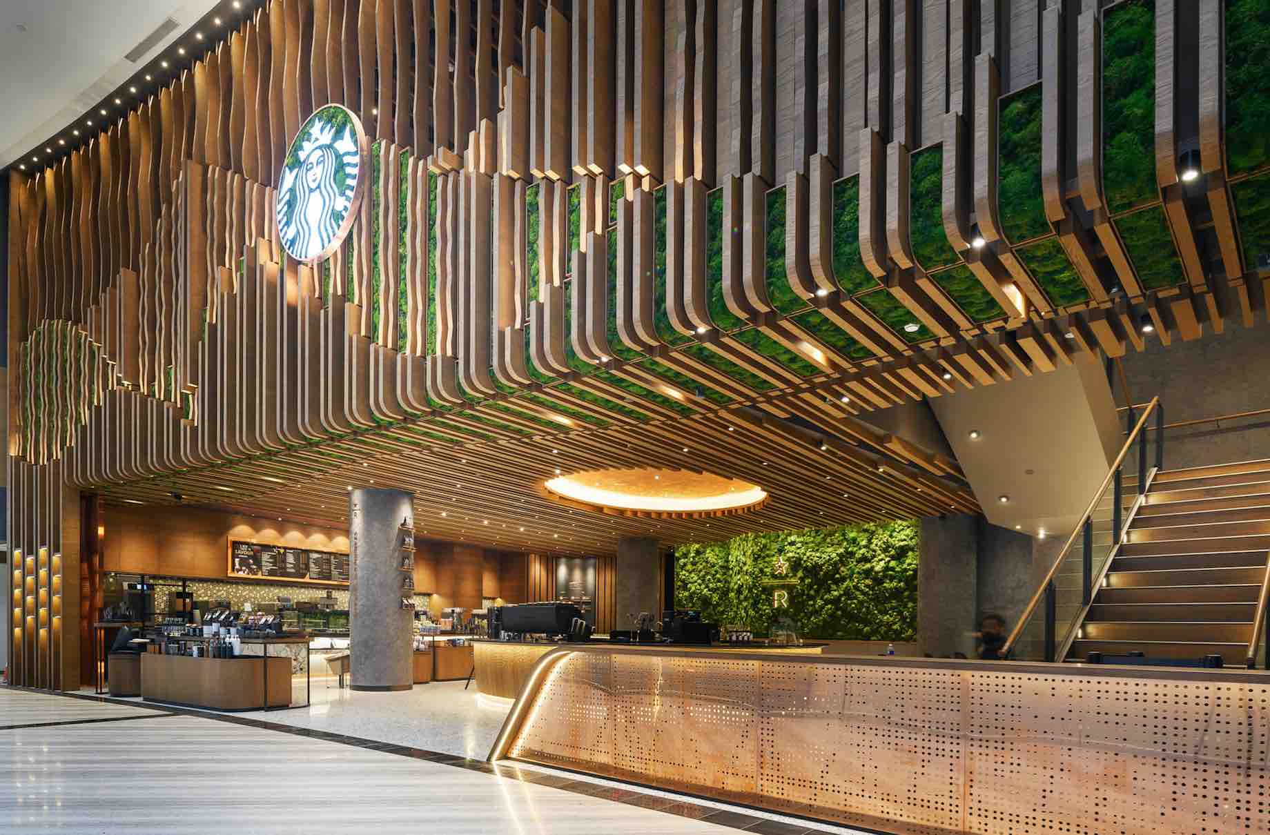 Starbucks Jewel Changi Airport Singapore Flagship With