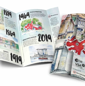 EZLink SG Bicentennial Card Series Celebrate Singapore's Transformation