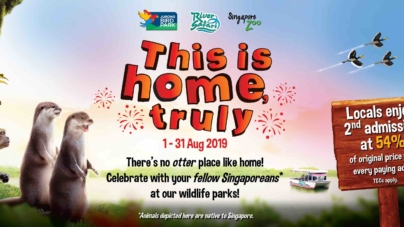 Wild National Day 2019 – Special Singaporean Promo At 3 Wildlife Parks