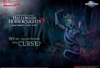 Halloween Horror Nights 9: 1st Haunted House By Thai Horror Filmmakers