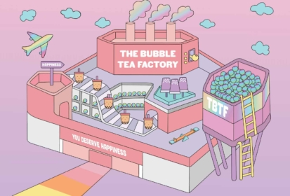 The Bubble Tea Factory Singapore – 1st Of Its Kind In Southeast Asia!