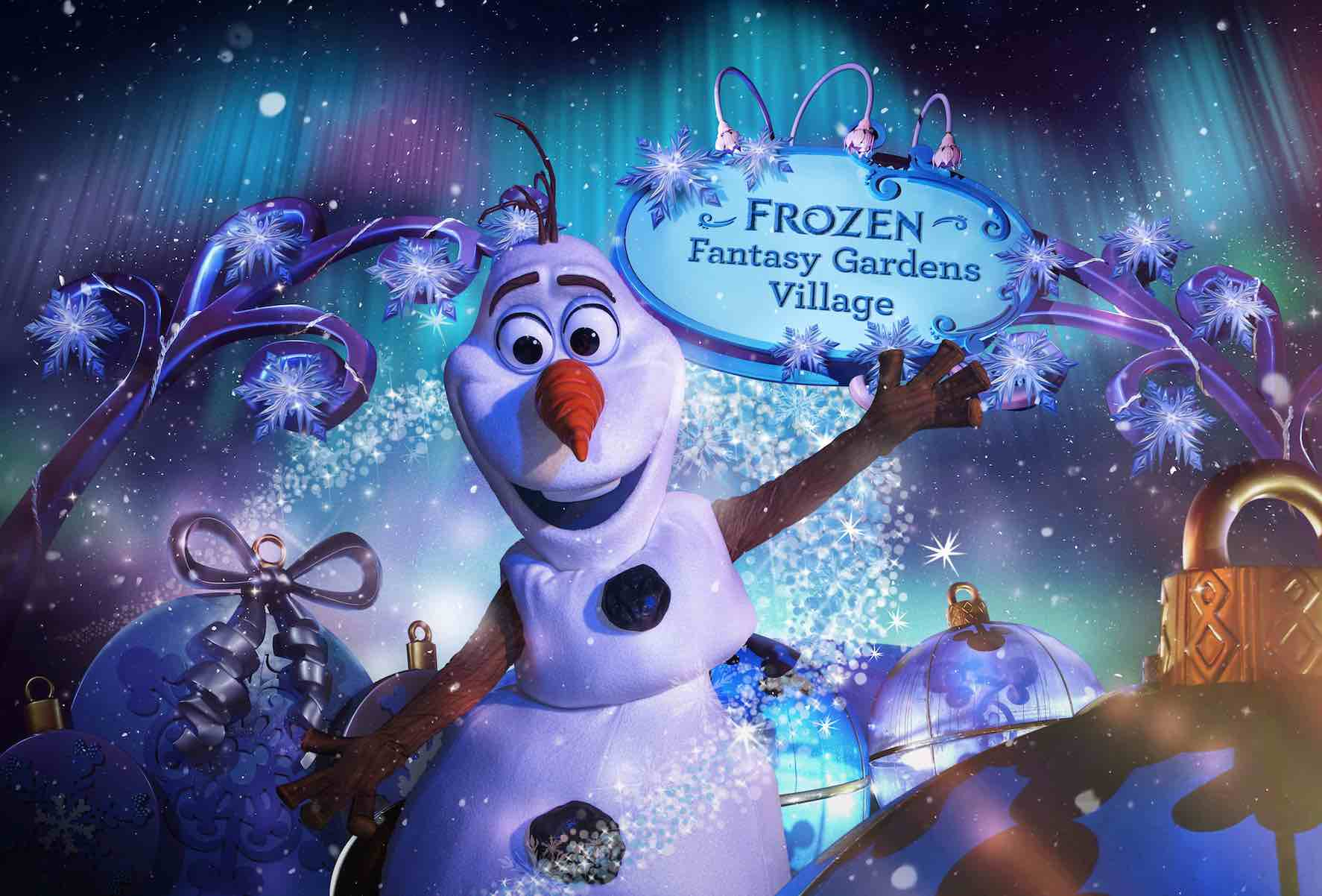 Frozen Christmas Special.Experience Frozen Themed Winter Wonderland At Hong Kong