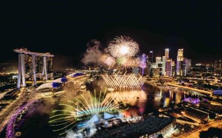 Marina Bay Singapore Countdown 2020 Celebrates The New Decade!