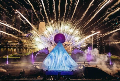 STAR ISLAND Singapore Countdown 2020 Fireworks Magic At Marina Bay