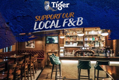 Tiger Beer Pledges $1 Million & Rallies #SupportOurStreets For Local F&B