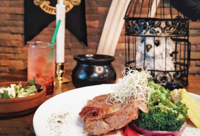 Fulfill Your Hogwarts Dream At The Harry Potter-themed Café – Platform 1094