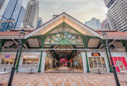 Food Folks @ Lau Pa Sat: Purpose-Driven Retail Supporting Local Brands