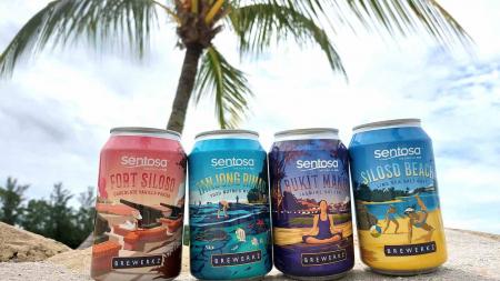 Islander Brew Singapore: Sentosa & Brewerkz Destination-inspired Beer