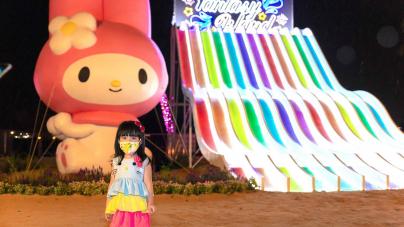 Sentosa Island Lights 2020 – Catch Sanrio Characters On Siloso Beach