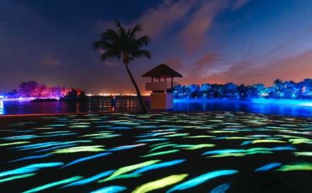 Sentosa Magical Shores – Singapore's First Beach Light Art Attraction