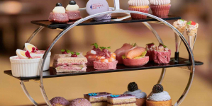 The Fullerton Hotels Singapore Celebrate International Women's Day With Purple Afternoon Tea, Cocktail & Cake