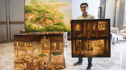 Yip Yew Chong Brings Stories From Yesteryear Exhibition To Sofitel Singapore City Centre