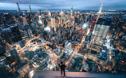 Edge New York – Take In 360-degree Views Of The Iconic City Skyline