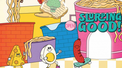 Slurping Good! Singapore's First Instant Noodle-Themed Retail Playground