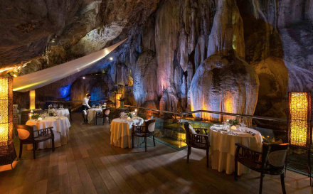 Experience Unique Cave Dining At The Banjaran Hotsprings Retreat