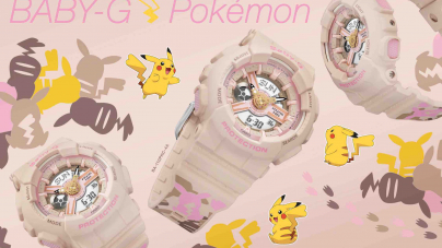 BABY-G Pokémon – Pikachu Silhouettes In Camouflage Design