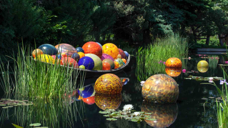 Dale Chihuly Glass In Bloom – First Major Garden Exhibition In Singapore