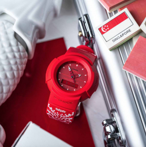 G-SHOCK National Day Watch 2021 Designed By Local Artist Tobyato