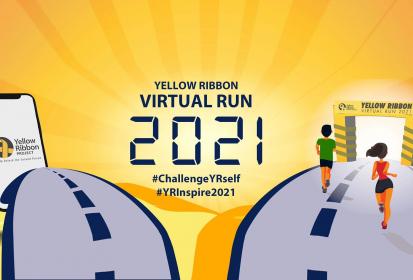 Yellow Ribbon Virtual Run 2021 – Run To Inspire Second Chances
